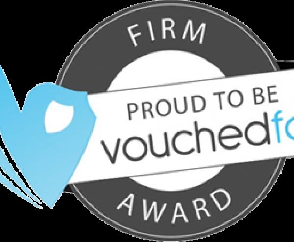 VouchedFor Firm Award - Giliker Flynn