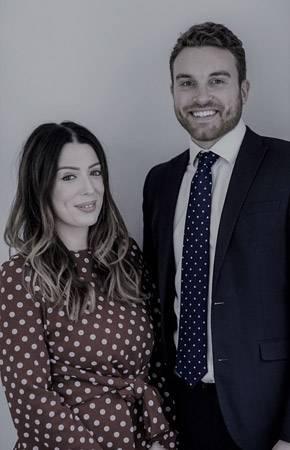 Portrait of Frances and Chris